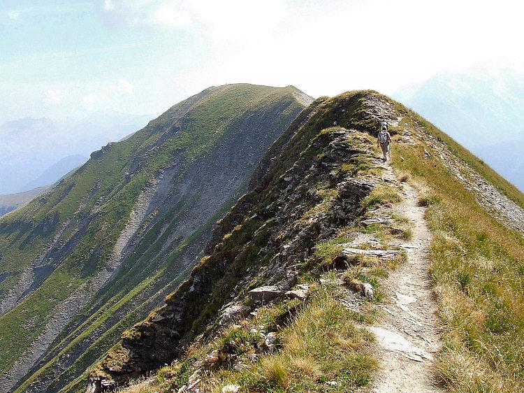 L'Aiguille Croche le Mont Joly par les crêtes